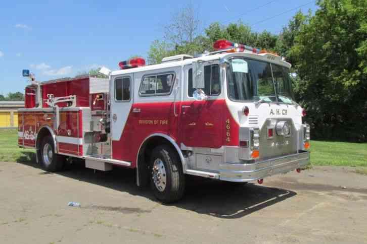 Mack Cf 1981 Emergency Amp Fire Trucks