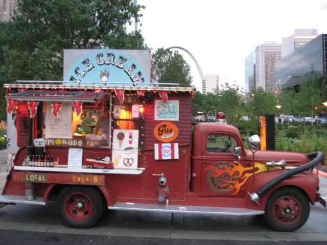 Ford Ice Cream Fire Truck Firetruck 1946