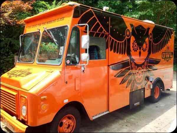 Chevrolet P30 Step Van Converted Food Truck 1995 Van