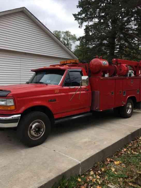 Ford F-350 (1997) : Utility / Service Trucks