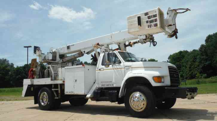 Ford F800 1999 Bucket Boom Trucks