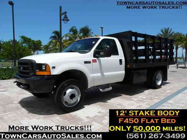 Ford F450 Stake Body Flatbed Flatbed (2000)