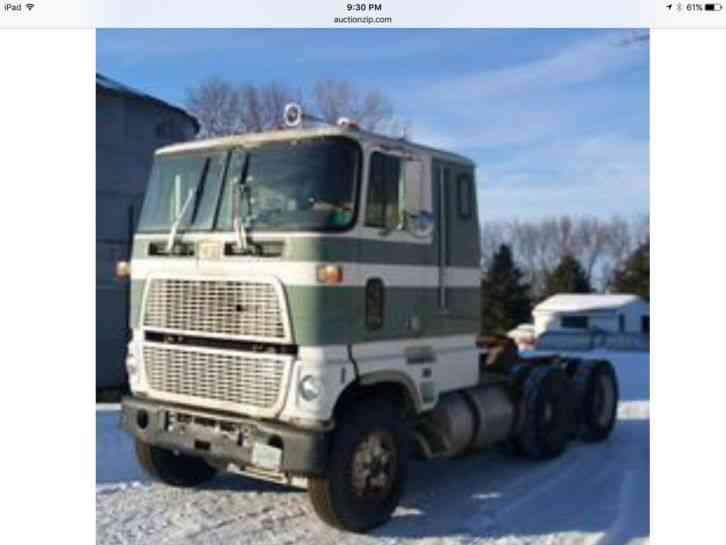 Ford Cl 9000 1985 Sleeper Semi Trucks