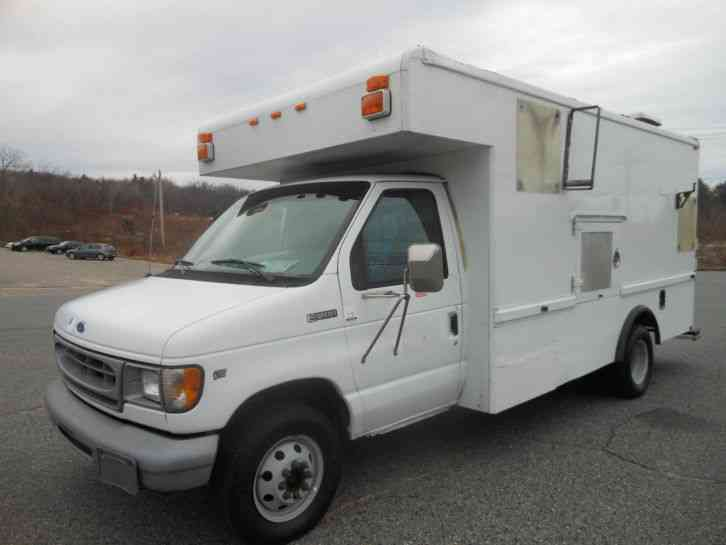 ford e 350 1997 utility service trucks. Black Bedroom Furniture Sets. Home Design Ideas