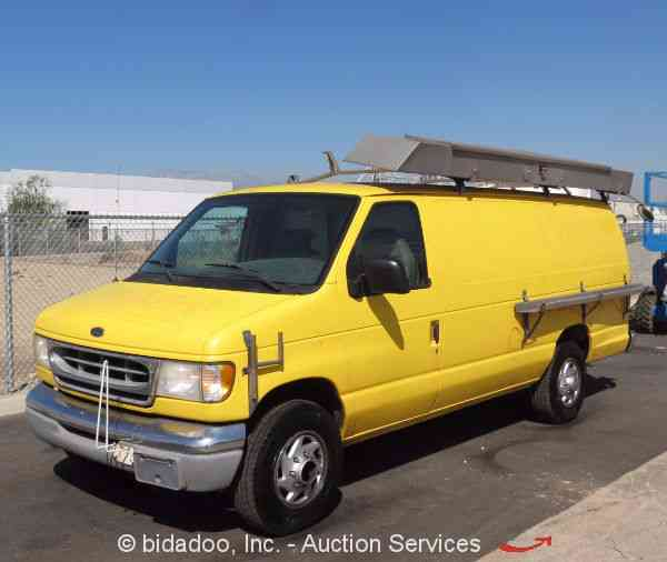 ford econoline 2000 utility service trucks. Black Bedroom Furniture Sets. Home Design Ideas