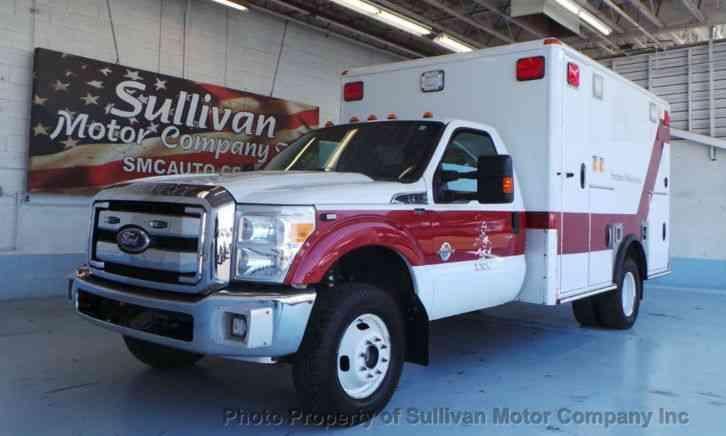 ford super duty f 350 drw ambulance 2011 emergency fire trucks rh jingletruck com Ford F-350 Ambulance Type 3 1980 Ford F-450 Ambulance