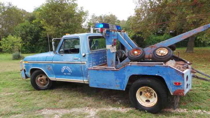 FORD F-350 (1976) : Wreckers