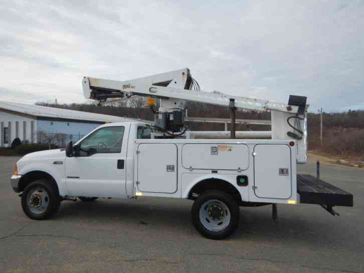 Ford F 450 Xl 2001 Bucket Boom Trucks