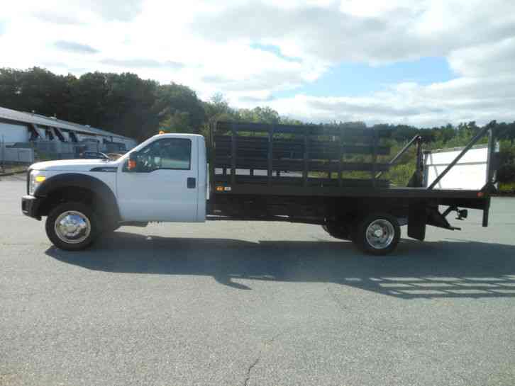 Ford F Rack Body Flatbed Ft Knapheide Body Aluminum Rail Lift Gate on 2000 Ford F450 Super Duty