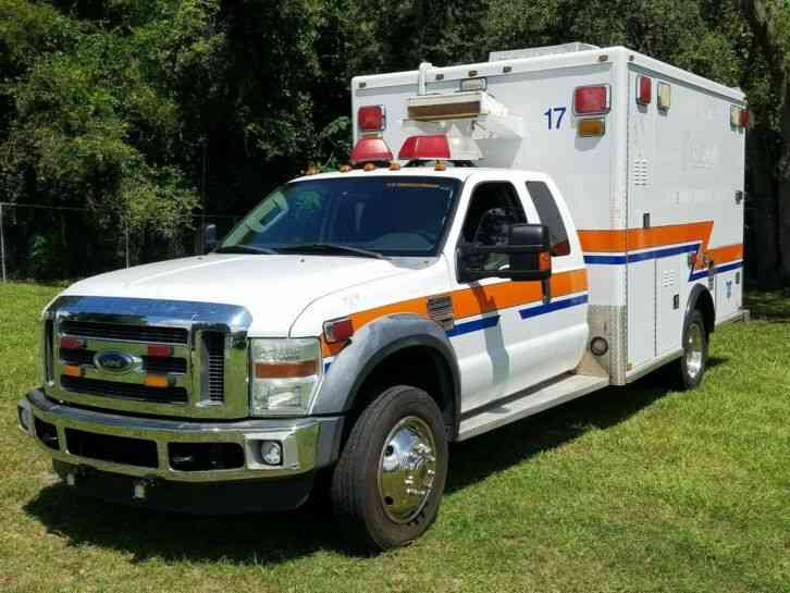 Ford: F 450 XLT AMBULANCE , FLORIDA