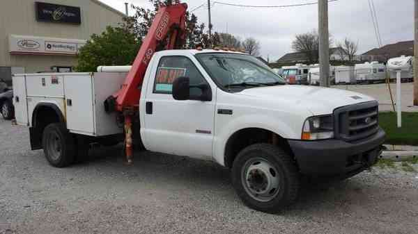 Dodge 3500 For Sale >> Ford F550 (2004) : Utility / Service Trucks