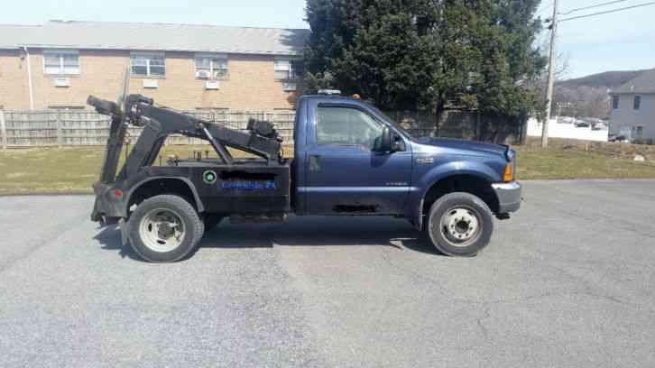 Ford F550 wrecker self loader (2001)