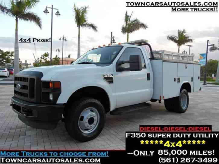 Ford Super Duty F-350 4x4 (2008)
