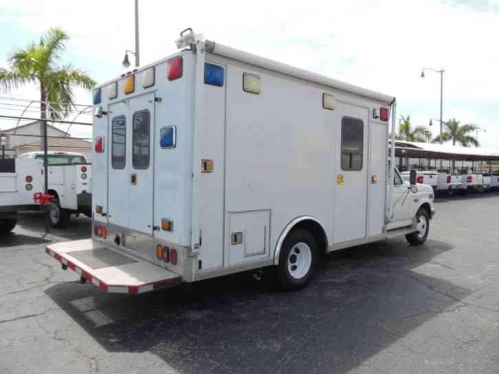 Ford F350 Super Duty Rescue Vehicle Ambulance 1997