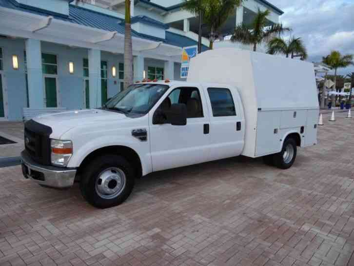 Ford F350 utility body enclosed service body (2008 ...