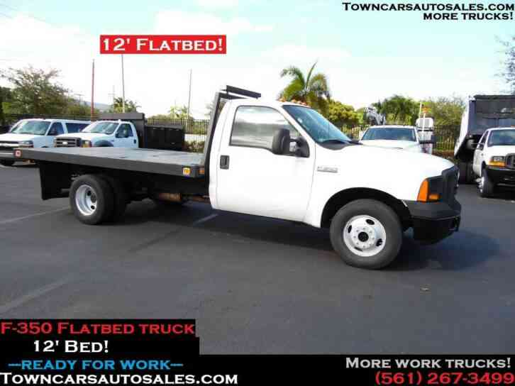 Ford F350 Flatbed Truck (2005)