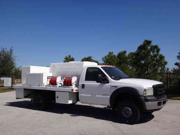 Ford F450 Super Duty Spray Truck (2006)