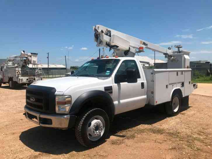 Ford F450 Bucket Truck 2008 Bucket Boom Trucks