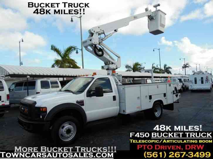 Ford F450 Bucket Truck 48K Miles (2008)
