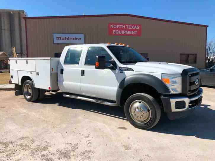 Ford Super Duty F-450 DRW Chassis Cab (2011)