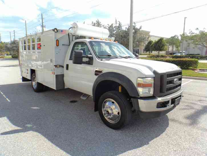 Ford F 450 Superduty 2008 Utility Service Trucks