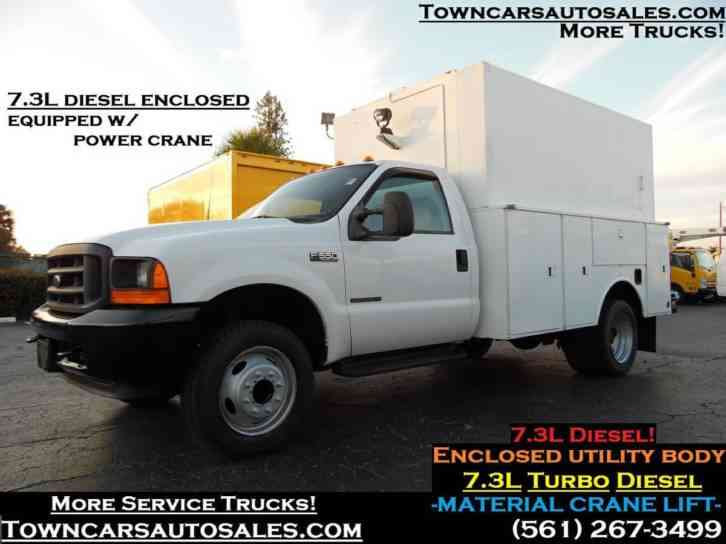 Ford F550 Enclosed Utility Truck 7. 3L (2001)
