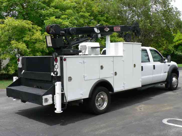Ford F550 2006 Utility Service Trucks