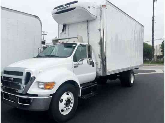 Ford F650 20ft Refrigerated Box Truck diesel-New (2015 ...