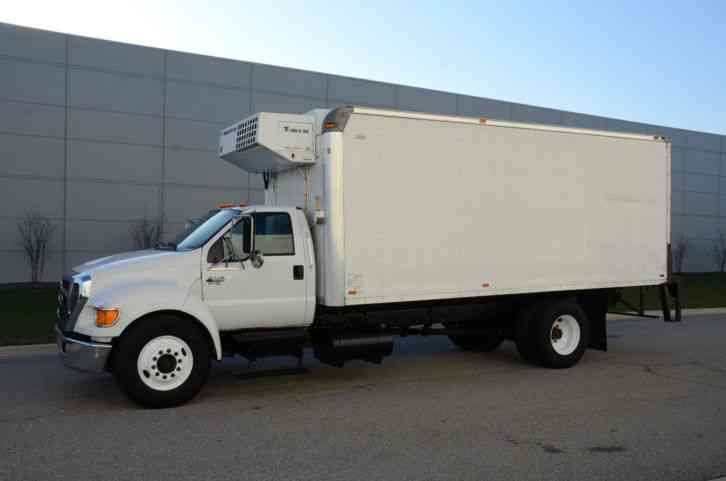 FORD F650 REFRIGERATED BOX TRUCK 20FT BOX THERMOKING SIDE ...