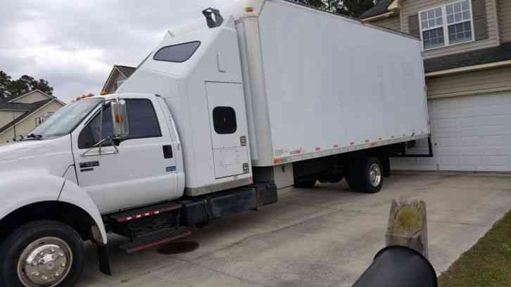 Ford F650 (2004) : Van / Box Trucks