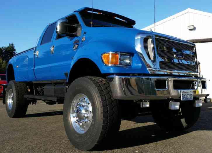 Ford 4x4 F650 Super Duty (2004) : Flatbeds & Rollbacks