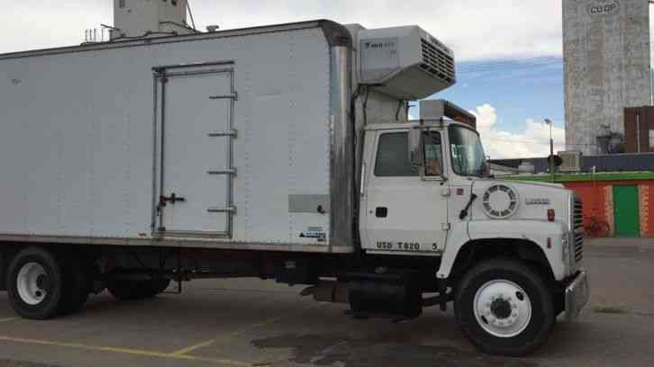 ford  superduty  van box trucks
