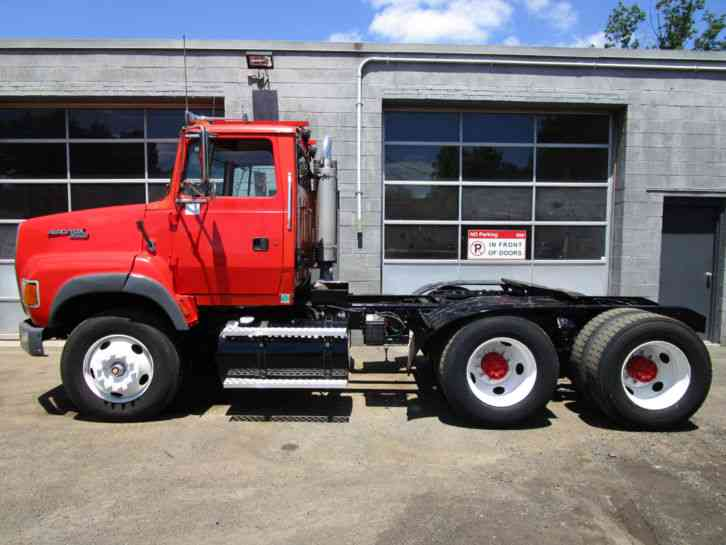 ford l9000 conventional day cab tandem axle tractor cat diesel low miles 291543512125 1 ford l9000 (1995) heavy duty trucks 1995 ford l9000 wiring schematics at gsmx.co