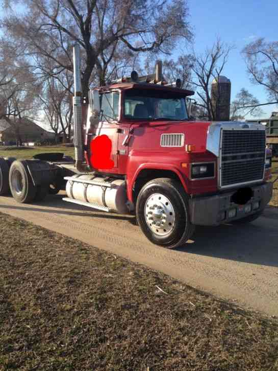 Heavy Tow Truck For Sale >> Ford Ltl 9000 (1986) : Daycab Semi Trucks