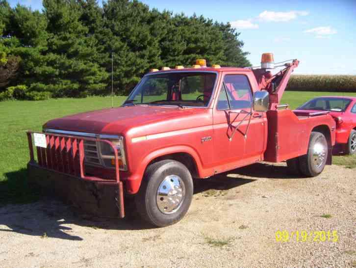 Cheap Tow Trucks >> Ford F 350 1985 Wreckers