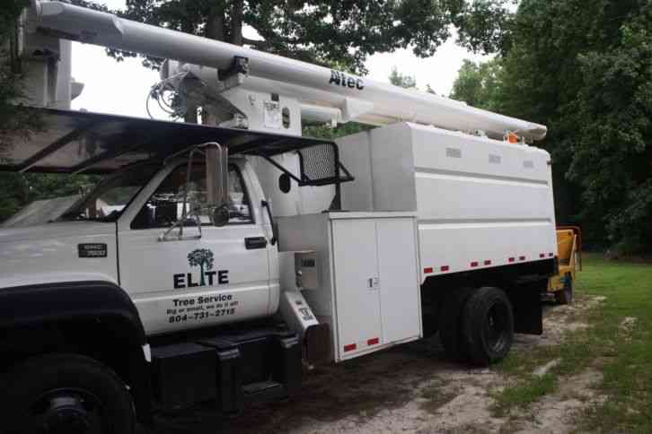 Truck Auctions: Forestry Bucket Truck Auctions