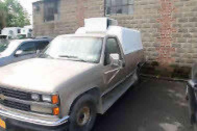 Chevrolet Silverado Freezer Truck Light Duty Trucks