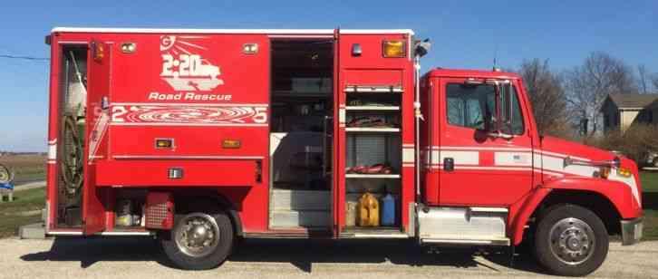 Freightliner Fl60 2004 Emergency Amp Fire Trucks