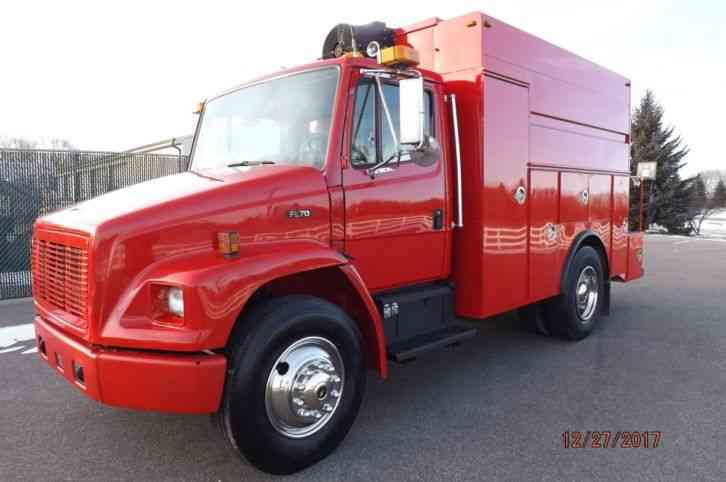 Freightliner Fl 70 1998 Utility Service Trucks
