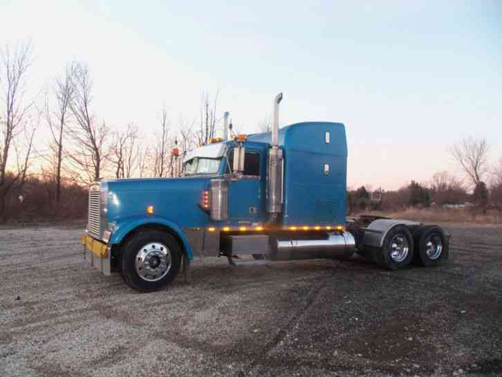 Freightliner classic (1998) : Sleeper Semi Trucks