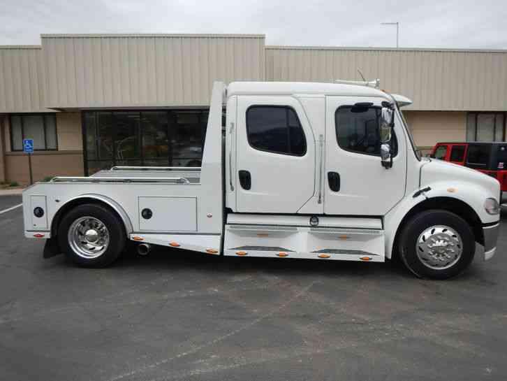 White Bed Liner >> Freightliner M2 Sport Chassis (2004) : Medium Trucks