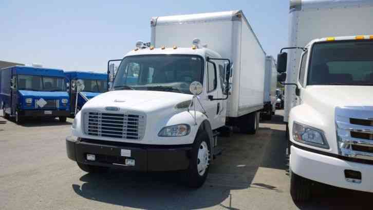 Freightliner M2 24ft Box Truck Supercab Xtracab Crew Cab