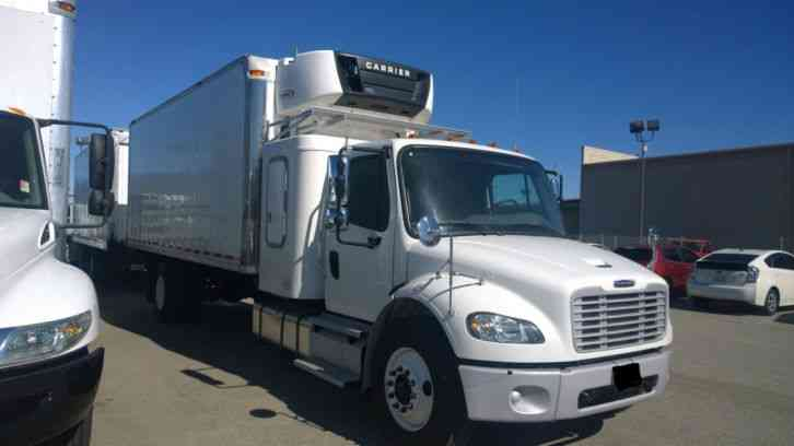 Freightliner M2 Sleeper Truck Under Cdl 26k Gvwr 22ft