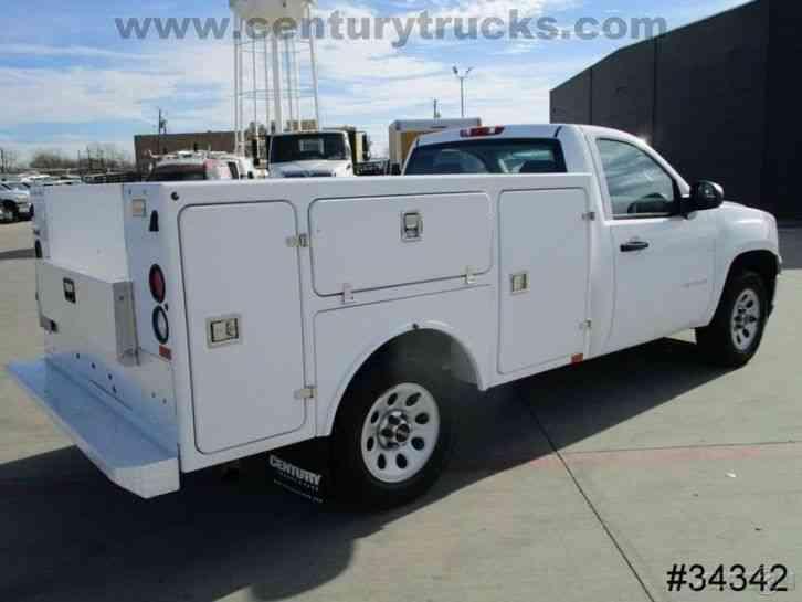 gmc 1500 sierra utility truck 2012 utility service trucks. Black Bedroom Furniture Sets. Home Design Ideas
