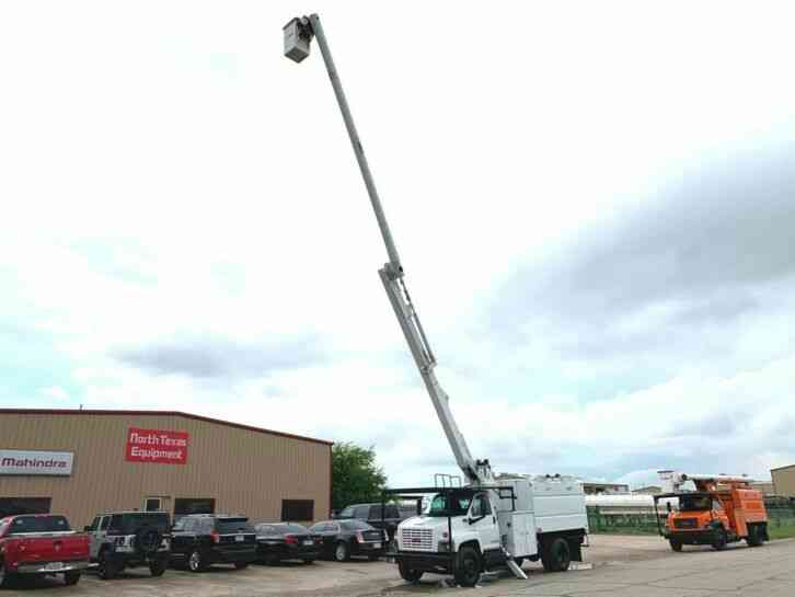 GMC 7500 FORESTRY BUCKET TRUCK (2006)