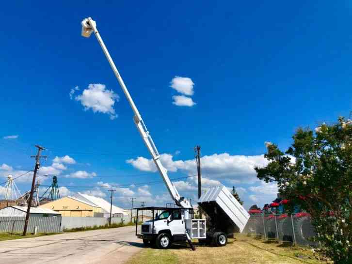 GMC C7500 FORESTRY BUCKET TRUCK (2008)