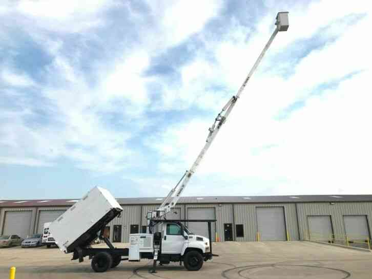 GMC 7500 FORESTRY BUCKET TRUCK (2008)