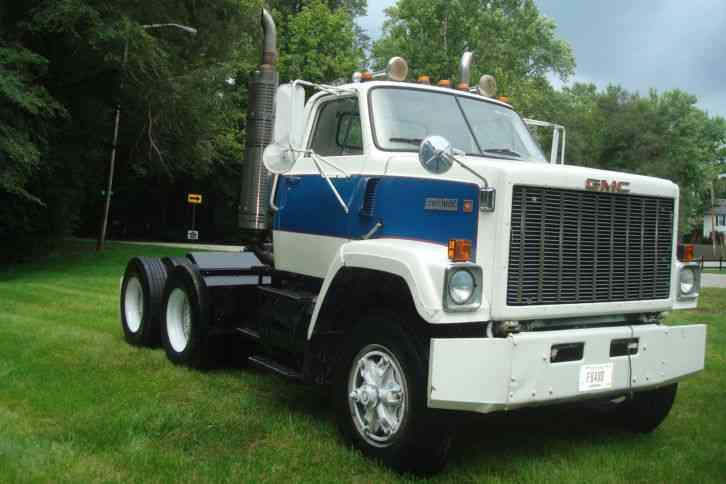 Gmc Tj9 1979 Daycab Semi Trucks
