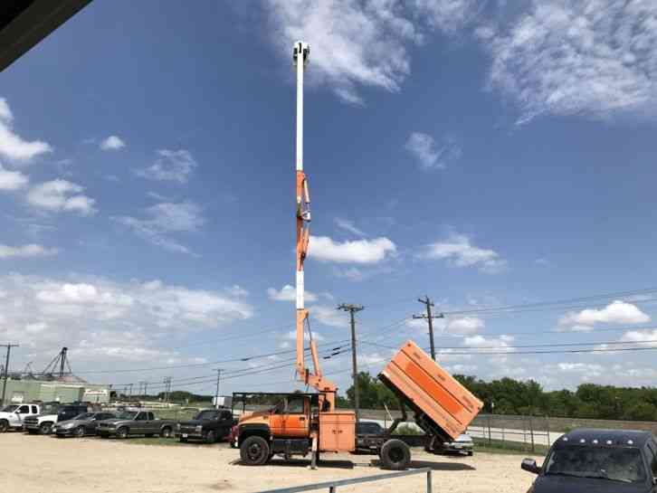 GMC 7500 FORESTRY BUCKET TRUCK (2002)