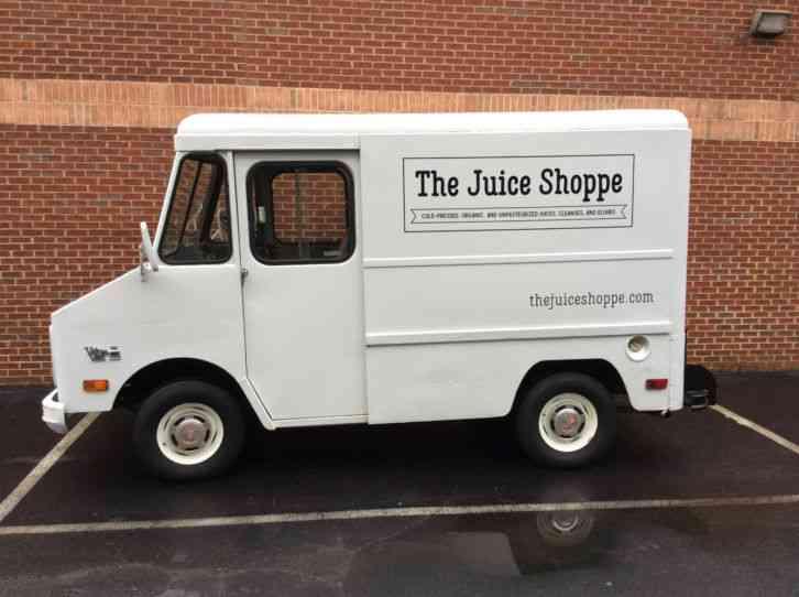 Step Vans For Sale >> Gmc P10 Step Van 1980 Van Box Trucks